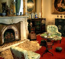 The Drawing Room at Werribee Mansion by Christine Smith