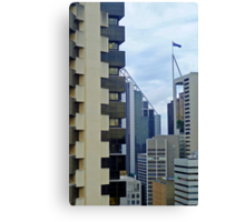 High Rise Geometrics Canvas Print