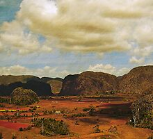The Mogotes, Vinales valley, Cuba by buttonpresser