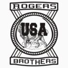 usa new york tshirt by rogers bros co by ukrogersbros