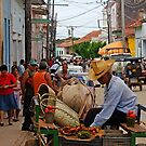 The mobile Grocer, Trinidad, Cuba by buttonpresser