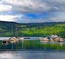 Loch Ness Jetty by Nicholas Jermy