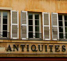"""Antiquites"" Windows by Laurel Talabere"