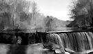 "Waterfall at Jelliff Mill by Christine ""Xine"" Segalas"