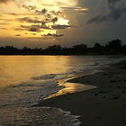 Sunrise in Pemba, Mozambique, Africa. by Theshinyavenger