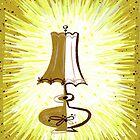 A lamp by Carol Wyatt