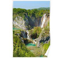 Plitvica Falls Poster