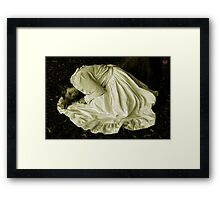 caught in the cold Framed Print