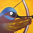 Fairy Wren Archery by Sarah Curtis