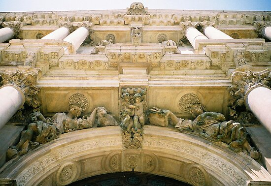 Architectural detail, Rome by Elana Bailey