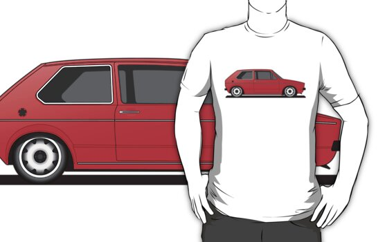 Volkswagen Golf Mk1 - Red by Volkswagen Guy