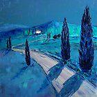 Tuscan night by Claudia Hansen