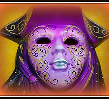 Venetian carnival mask by daffodil