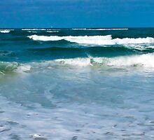 Waves on a Beach by Frank Bibbins