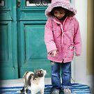 Elli & The Cat by Hazel Dean