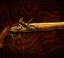 Gun - Flintlock Pistol  by Mike  Savad