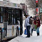 Montreal Transit by Mark David Barrington