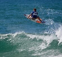 Taj Burrow - Burleigh Breaka Pro 2010 by Odille Esmonde-Morgan