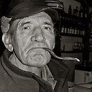 Laci Baci with cigar by NicoleBPhotos