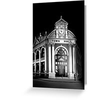 York Town Hall - Western Australia  Greeting Card