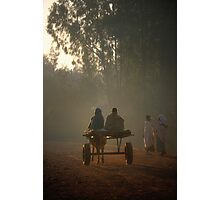 Early morning commuters in Bahir Dah Photographic Print
