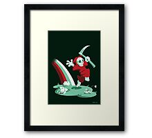 The Joy of Death Framed Print
