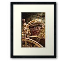 cart Framed Print