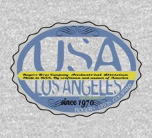 usa california  tshirt by rogers bros by usacali