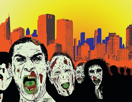Zombie City by jimlap