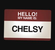 NAMETAG TEES - CHELSY by webart