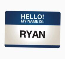 NAMETAG TEES - RYAN by webart