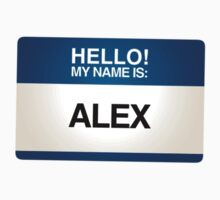 NAMETAG TEES - ALEX by webart