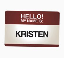 NAMETAG TEES - KRISTEN by webart