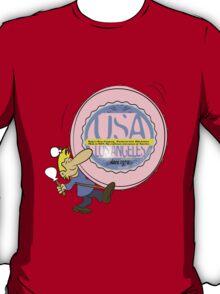 usa california  tshirt by rogers bros T-Shirt