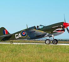 P-40N Kittyhawk - Airshow Downunder 2011 by Bev Pascoe