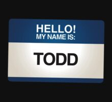 NAMETAG TEES - TODD by webart