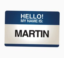 NAMETAG TEES - MARTIN by webart