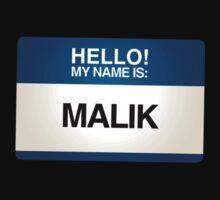 NAMETAG TEES - MALIK by webart
