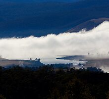 Mist in the valley  below (3316) by Ron Co
