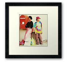 Colourburst Framed Print
