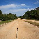 Route 66 - Missouri Concrete Highway by Frank Romeo