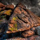 Isosceles Rock by Bob Larson