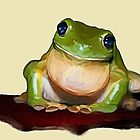 Lil Tree frog by Cazzie Cathcart
