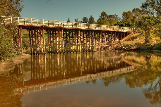 Road Bridge, Bridgetown, Western Australia by Elaine Teague