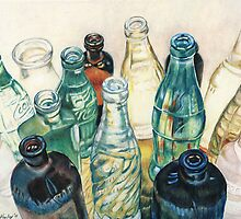 Old Bottles by Charlotte Yealey