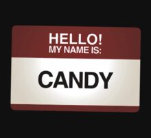 NAMETAG TEES - CANDY by webart