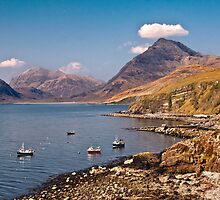Fishing boats at Elgol by Shaun Whiteman