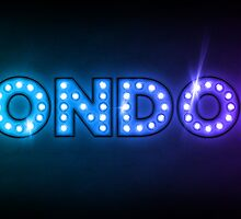 London in Lights by ArtPrints