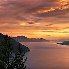 Lake Pend Oreille by Leland Howard