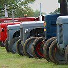 Georgina the tractor by Tony Hadfield